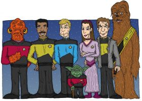 Trek Wars 1 by Lordwormm