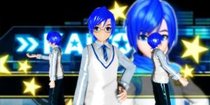 Kaito Campus Dt by GrayFullbuster21