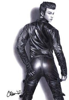 'My ass looked fantastic!' Drawing by Live4ArtInLA