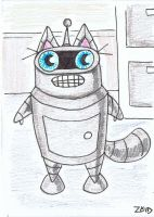 Bender Funny cat by KingZoidLord