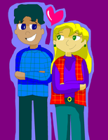 Hey Arnold - Gerald and Arleene by TXToonGuy1037