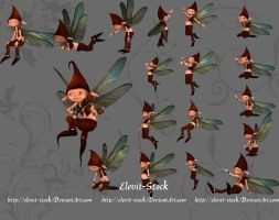 E-S Goblin 20 poses by Elevit-Stock
