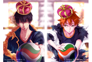 The King and The Prince | Collab by AJM-FairyTail
