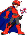 Blademan! by Drizzle-The-Glaceon