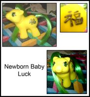 Custom MLP : Baby Luck by marienoire