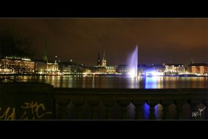 Alster Lake with BlueGoal by W0LLE