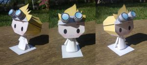Dr. Horrible Papercraft by Waldo-xp