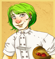 Chef Oliver by lallyzippo