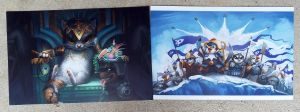 Tasipurr and Penguins of Antarkir Prints for Sale! by ALRadeck