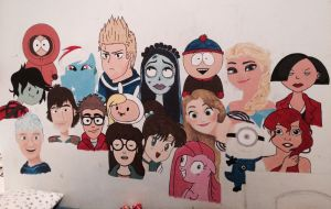 My wall is amazing 2 WIP by isamadworld52