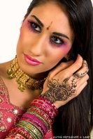Asian bride. Pink. by Ryo-Says-Meow