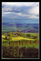 Rainbow over Fife by Ballisticvole