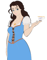 Belle HD flat colors by RwoRomeo
