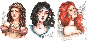 COM ~ Charming portraits by Songes-et-crayons