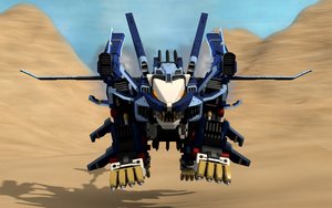 Liger Zero Jager pouncing by DGMM