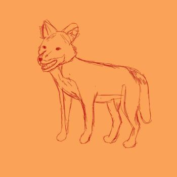 Dhole WIP by MidnightsWriter