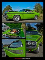 Dodge Challenger by dirtyphonik