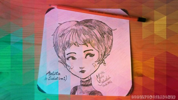 Bring Me Back To Life * Aelita Shaeffer * by CodeLyokoSearcher