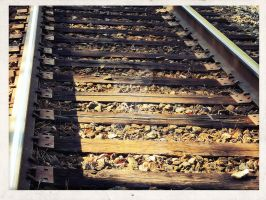 on the right track by x--photographygirl