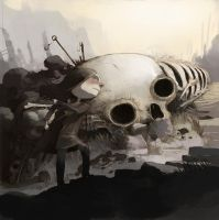 way of bones by tonysandoval