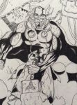 Old Thor drawing by 0Inku0