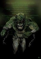 Killer Croc from Batman by MassimoDeh