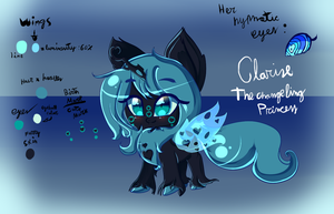Clarise the Changeling Princess by karsisMF97