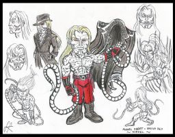 My take on Omega Red by devilkais