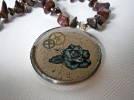 Rose Pendant by ChristinaRoth333