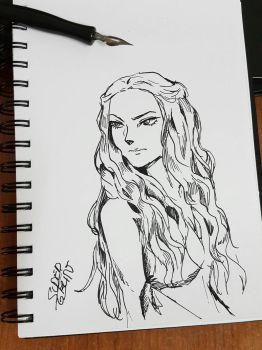 Cersei Lannister by SuperG0blin