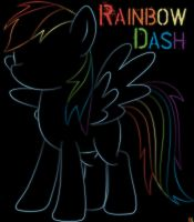Rainbow Dash by AmethystHorn