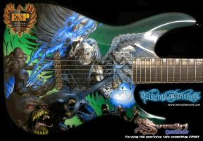 Eternal Descent Guitar 02 by Svee