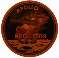 Uss Apollo Old Patch by JayPrower