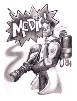 Team Fortress 2 - Medic by lintball13
