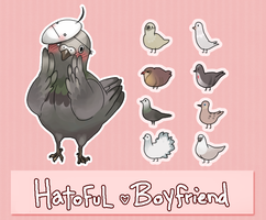 Hatoful Cryfriend by Wasil