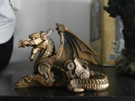 Steampunk Dragon by Spaceroses
