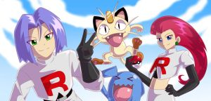 Team Rocket by chicajamonXD