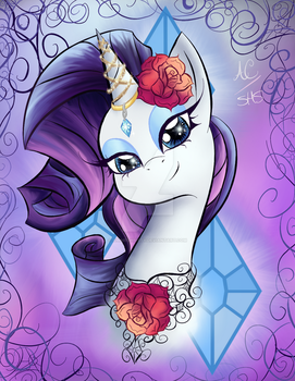 Rarity at her Finest by Animechristy