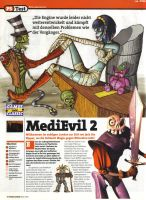 German MediEvil Magazine Scan by RAWTalent93