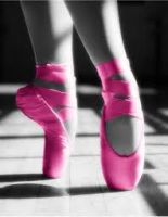 Pink Ballet Shoes by Ruki-the-Gazette