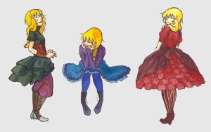 TAoMaE- Different Dresses by jessijordan