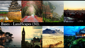 Bases - LandScapes by MarionSama