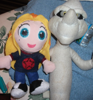Stinkie n Melle Plushies by Starimo