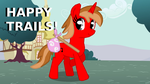 Happy Trails! - Going Away For The Weekends by CherryColaDippinDots