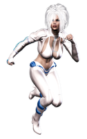 Dazzler's armor by anironbutterfly