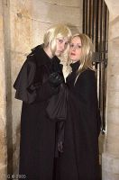Narcissa and Lucius by Flammechant