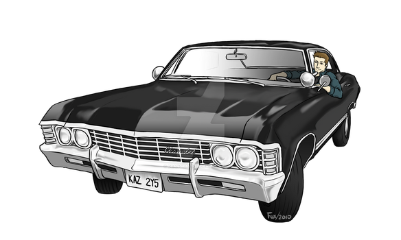 Dean+Impala Commission by DeanGrayson