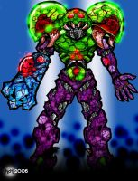 Metroid BioArmor by metroidvictim