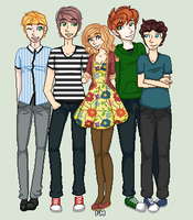 what a bunch of hipsters by princess-madeleine