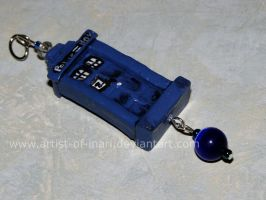 Dr. Who Charm for Elissa by KT-Silver